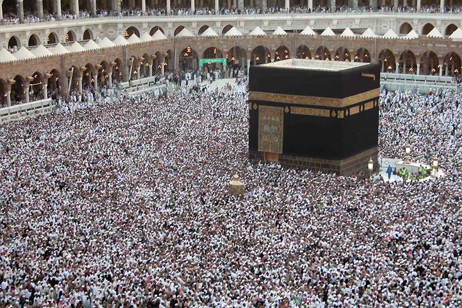 Die Wallfahrt nach Mekka ist neben der Autorität des Koran das Element des Islam, das alle Muslime vereint