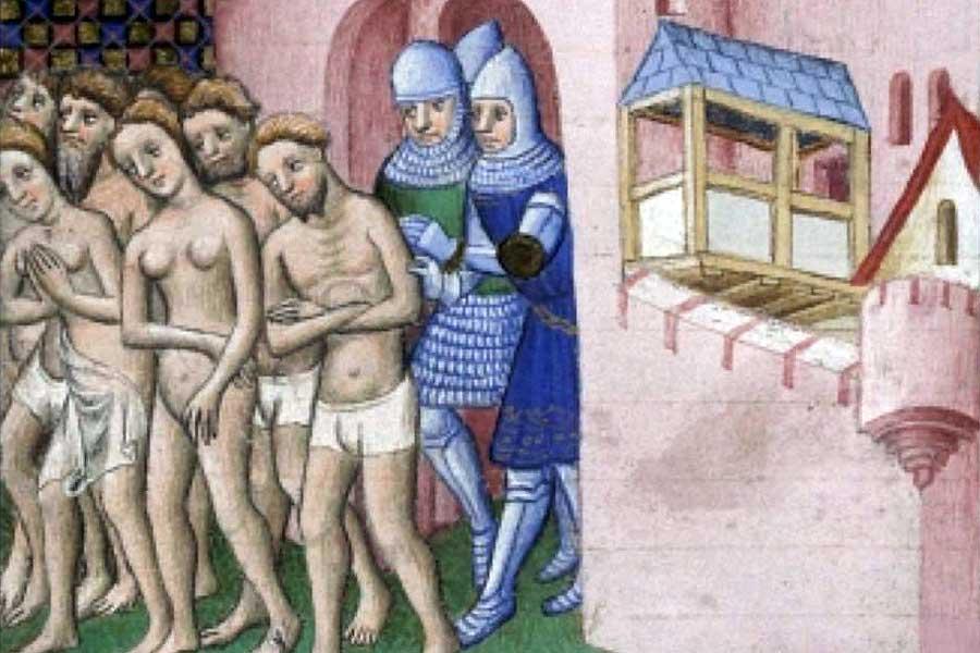 Die Lehren von Augustinus wirkten vor allem als Rechtfertigung für Zwangsmaßnahmen gegen Andersgläubige.