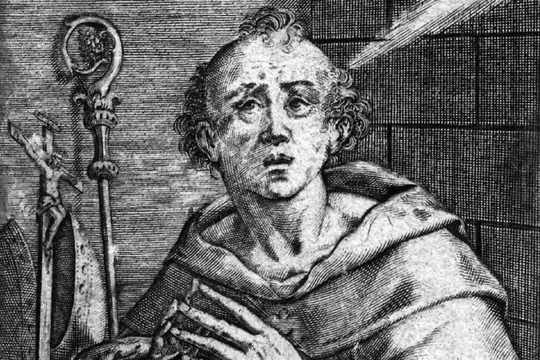 Der Bischof und Theologe Augustinus (354-430) entwickelte die Grundlagen für den Umgang der christlichen Kirche mit Andersgläubigen.